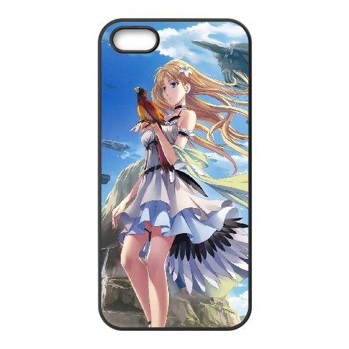 Falcon And A Blonde coque iPhone 5 5S Housse téléphone Noir de couverture de cas coque EOKXLLNCD13436