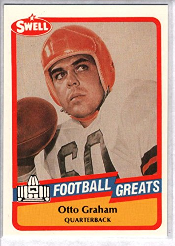 (Football NFL 1989 Swell Greats #26 Otto Graham NM-MT Browns)