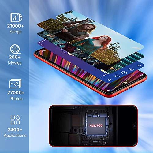 "Unlocked Smartphones, UMIDIGI F1 Dual SIM 4G Budget Phone, 6.3"" FHD+, 16MP+8MP Dual Camera, 128GB+4GB RAM, Android 9.0, 5150mAh Battery 18W Fast Charging"