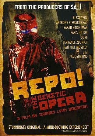 5e6a972bdfe Amazon.com: Repo The Genetic Opera: Paul Sorvino, Anthony Head ...