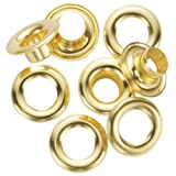 #8: General Tools 1261-4 1/2-Inch Grommet Refill with 24 Grommets