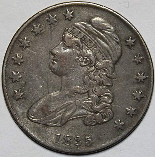 1835 Capped Bust Half Dollar XF40