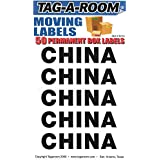Tag-A-Room Box Content Moving Label (China)