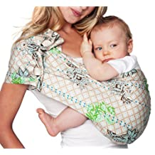 Hotslings Adjustable Pouch Baby Sling, Graham Cracker, Large by Hotslings