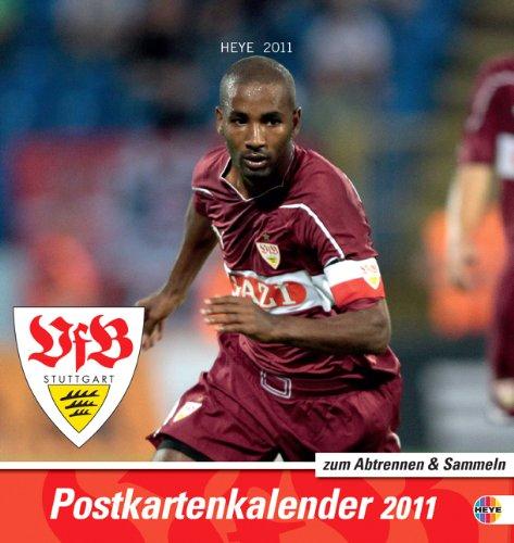 VfB Stuttgart 2012. Sammelkarten Postkartenkalender