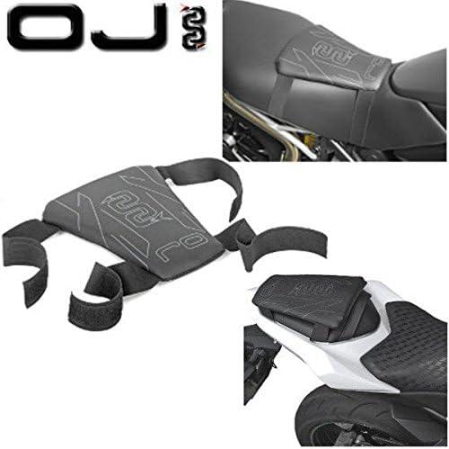 Coprisedile Traspirante per Motocicletta coprisella Anti-Scivolo per ciclomotore Coperchio di Protezione per Moto Cuscino Sella Rete 3D Mesh Gorgebuy Cuscino Sella Moto 3D Mesh Nero