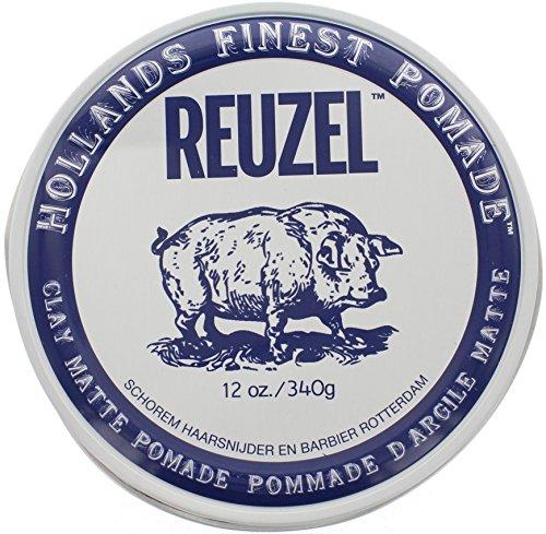 Reuzel Clay Matte Pomade, 12 - Pomade Clay