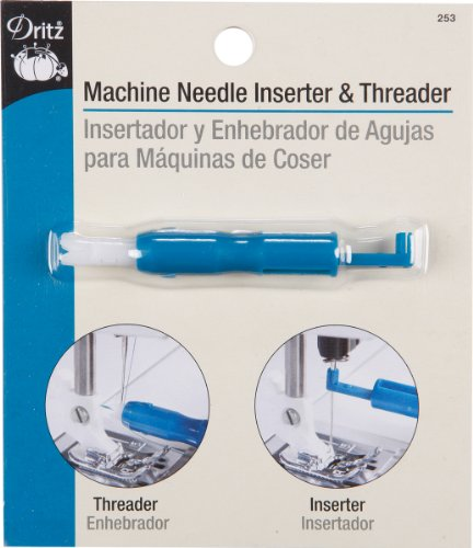 Amazon.com: Dritz 247 Machine Needle Inserter and Lint Brush: Arts, Crafts & Sewing