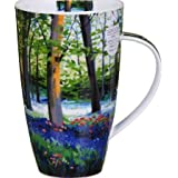 Bluebell Wood–Taza de cerámica Dunoon Henley–Forma...