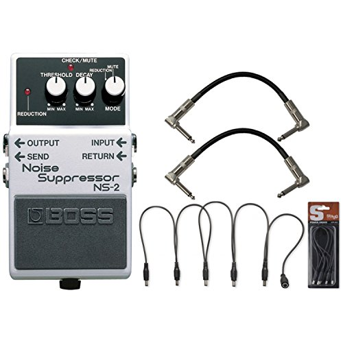 BOSS NS 2 Noise Suppressor Cables