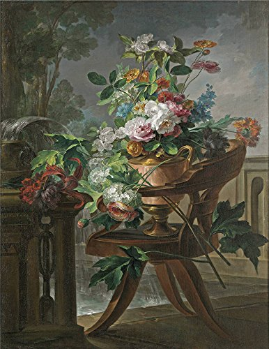 [Oil Painting 'Parra Miguel Florero Sobre Una Silla 1844', 8 x 10 inch / 20 x 26 cm , on High Definition HD canvas prints is for Gifts And Home Office, Nursery And Powder Room] (Tuxedo Mask Costume Sale)