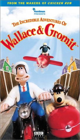 The Incredible Adventures Of Wallace And Gromit  Vhs