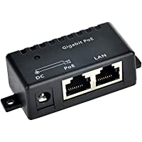 PoE Texas GPOE-1B | Gigabit Passive Power Over Ethernet Injector - Combines 10/100/1000 Data and DC Power on RJ45 for…