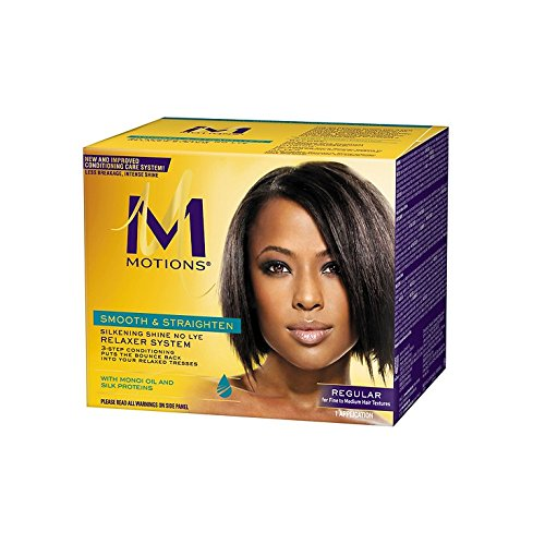 Motions Smooth and Straighten Silkening Shine No-Lye Relaxer System