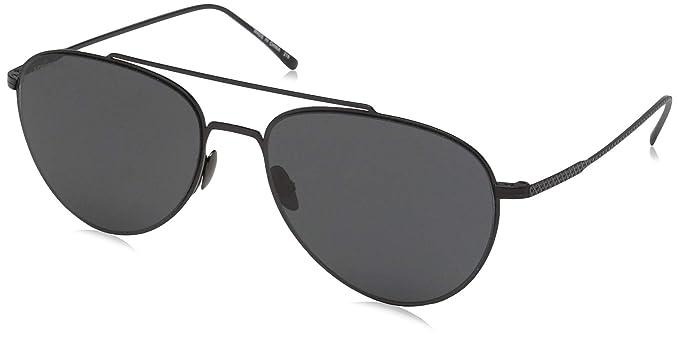 Lacoste L195s, Gafas de Sol Unisex, Matte Black, 56