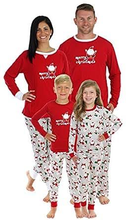 Sleepyheads Christmas Santa Family Matching Pajama Set - Mens (SHM-4036-M-XS)