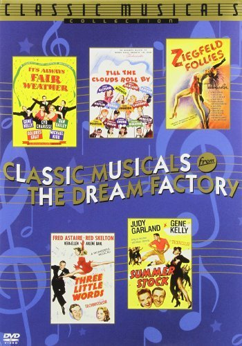Classic Musicals from the Dream Factory, Vol. 1 (Ziegfeld Follies / Till the Clouds Roll By / Three Little Words / Summer Stock / It's Always Fair Weather) by Warner Home Video