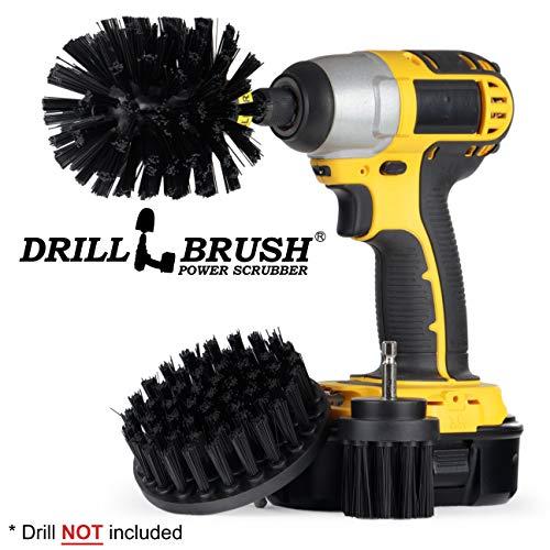 Price comparison product image Original Drill Brush Power Scrubber – Drill Brush Attachment – Drill Brush Kit – Drill Brush Attachment for Cleaning – Drill Brush – Cleaning Drill Brush Set - Nylon Drill Brush - Grill Brush