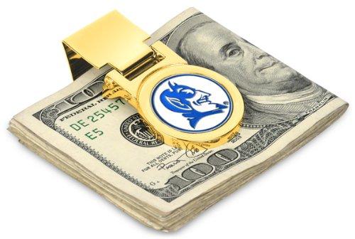 Duke Blue Devils Spring Loaded Money Clip