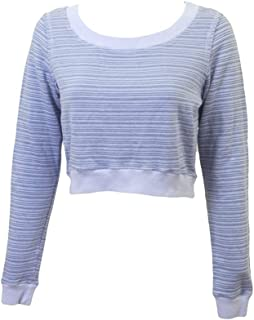 product image for Hard Tail Forever Womens Long Sleeve Cropped Sweatshirt Style TWIG-05