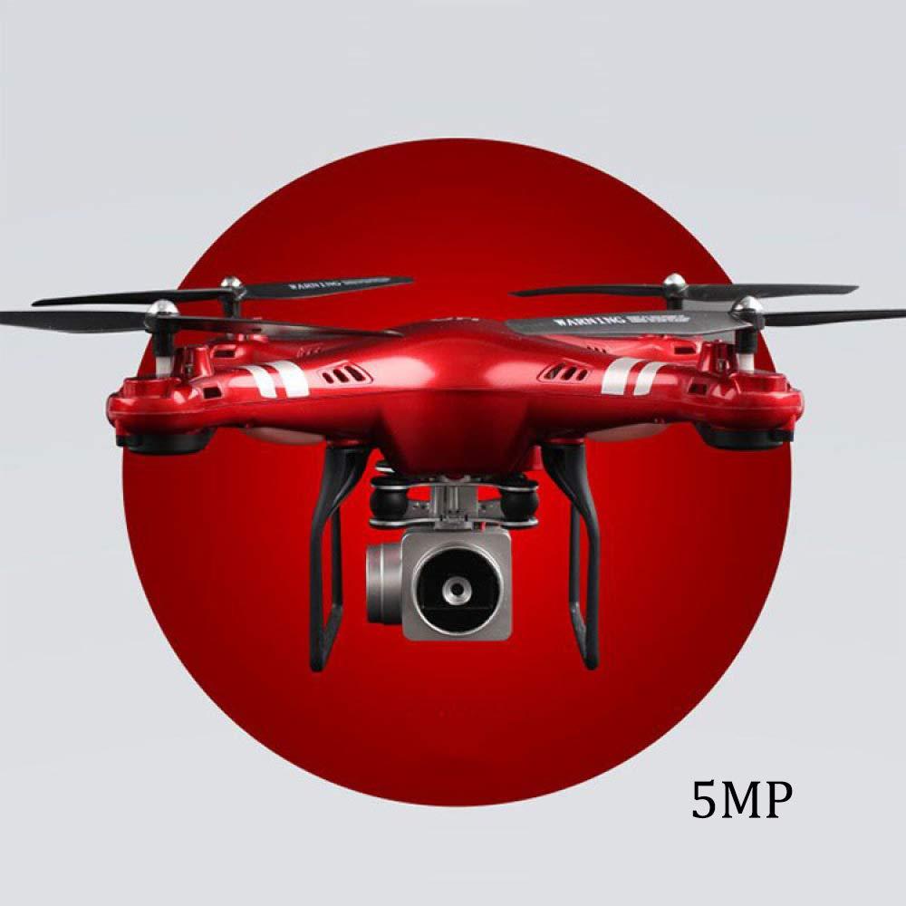ERKEJI Drohne Schwerkraft Induktion Fernbedienung Vier-Achs Flugzeuge pneumatische Feste Höhe Spielzeug Flugzeug 1080p Übertragung in Echtzeit 270 ° Breite Winkel Foto WiFi FPV