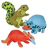 Zanies Freckle Friends Pet Dog Toys 48 Piece Multi Style Refill