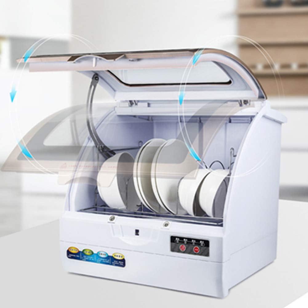 Lavavajillas compacto portátil de encimera de cocina, máquina de lavado de vajilla completamente automática de calefacción y desinfección tipo aerosol: Amazon.es: Hogar