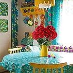 AILANDA-2PCS-Large-Artificial-Silk-Hydrangea-Bush-in-Red-Fake-Flower-Bouquets-Arrangements-Decoration-for-Home-Party-Venue-Table-centerpieces-Backdrops-157-Tall