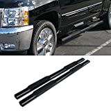 VioGi 2pcs Brand New 5 Oval Carbon Steel Side Step Nerf Bars Running Boards For 09-10 Dodge Ram 1500 11-14 Ram 1500 Quad Cab Pickup With Smaller Size Rear Doors by VioGi