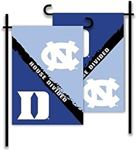 NCAA 2-Sided Garden Flag - Rivalry House Divided