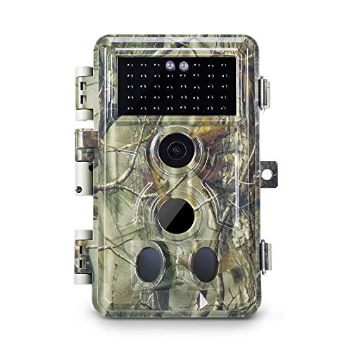 Motion Trigger Recording - Meidase Trail Camera 16MP 1080P, Game Camera with No Glow Night Vision Up to 65ft, 0.2s Trigger Time Motion Activated, 2.4