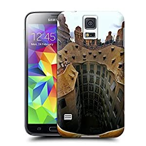 Unique Phone Case Famous scenery Spain very famous La Pedrera apartment Hard Cover for samsung galaxy s5 cases-buythecase