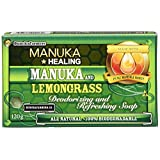 Bunch A Farmers Manuka Honey and Lemongrass Soap, Green, One Size