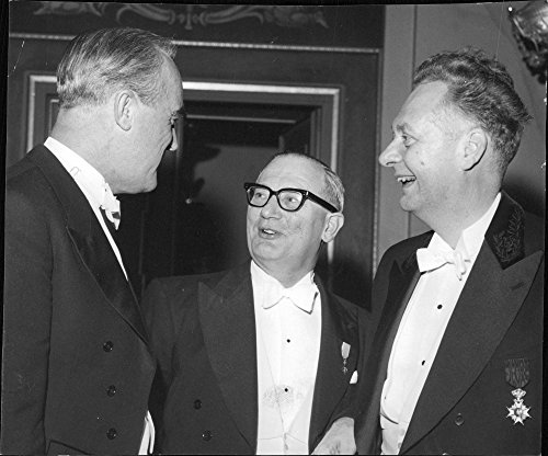 Vintage Photo Of Fr  V  Deputy Chairman  Gunnar Krook  The Guest Of Honor And Presenter Frank L  Rose And The Chairman  Teodor Canb228 Ck The Pharmaceutical Association  39 S Anniversary