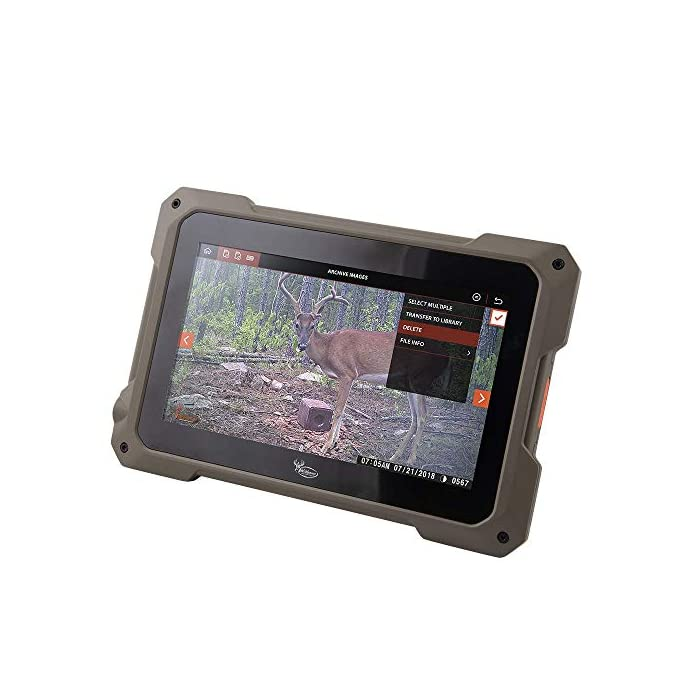 Wildgame Innovations VU70 Trail Tablet Dual Sd Card Viewer