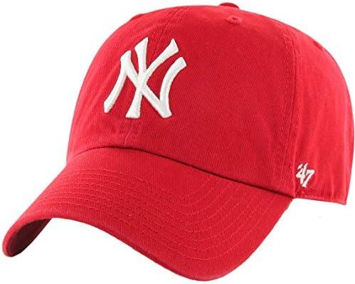 '47 MLB New York Yankees Men's Brand Clean Up Cap