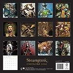 Steampunk Wall Calendar 2020 (Art Calendar) 7
