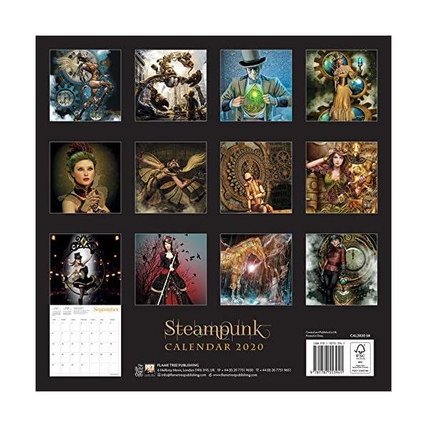 Steampunk Wall Calendar 2020 (Art Calendar) 4