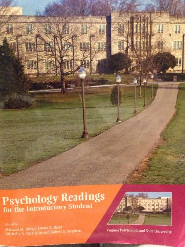Psychology Readings for the Introductory Student (Virginia Polytechnic and State University)