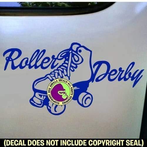 ROLLER DERBY Skating Vinyl Decal Sticker B