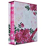 Fashion BB Multi photo album 4x6 with Paper cover 200 Pockets Hold Pink