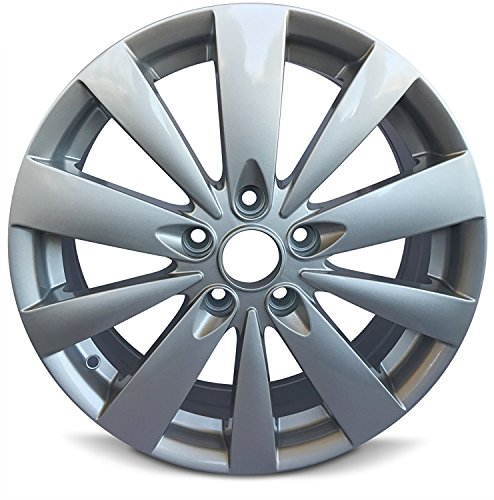 Road Ready Car Wheel For 2009-2010 Hyundai Sonata 17 Inch 5 Lug Aluminum Rim Fits R17 Tire - Exact OEM Replacement - Full-Size Spar
