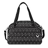 Travelon Women's Anti-Theft Boho Weekender, Geo Shells