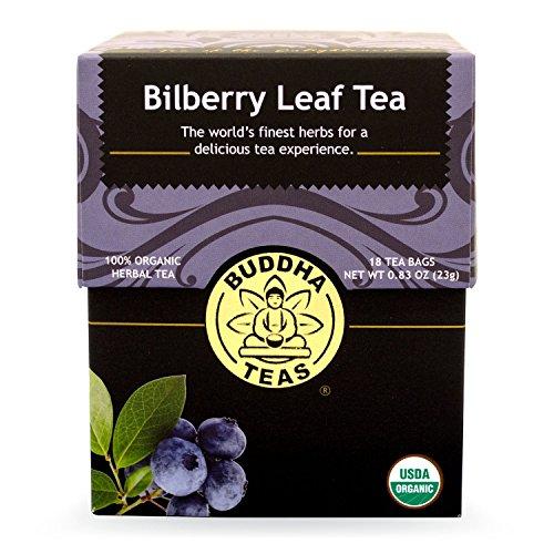 Buddha Teas Bilberry Leaf Count