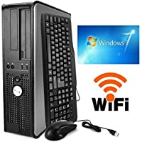 Dell Dual Core 3.40GHZ, 80GB, New 4GB Memory, DVD, WIFI, Windows 7 PRO-(Certified Reconditioned) (Certified Refurbished)