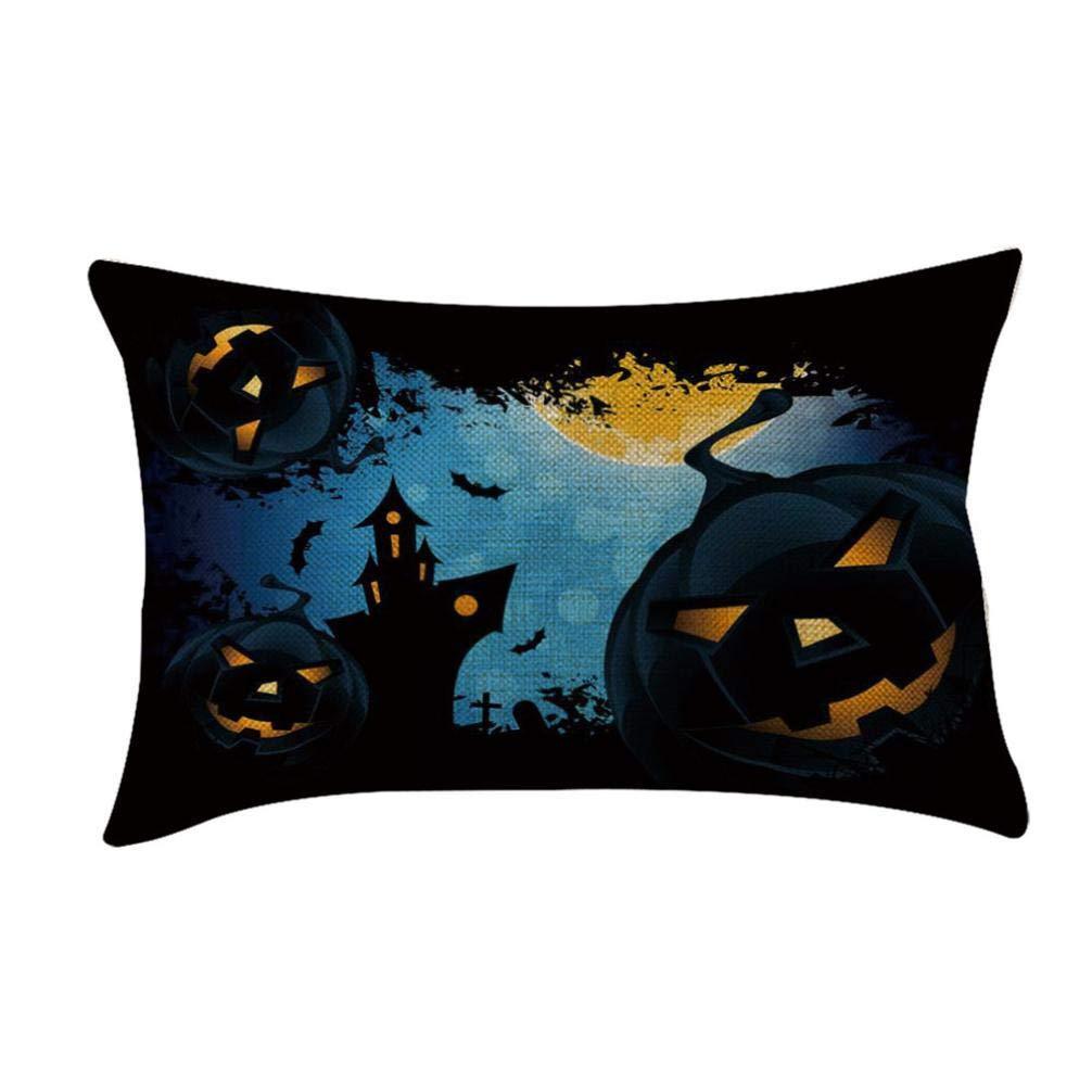 Fundas de cojín, TWBB Almohada Almohada Almohada Almohada Sofá Cama De Halloween: Amazon.es: Hogar