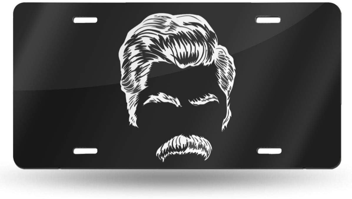 Amazon.es: MYGED Metal Divertido Ron Swanson Mustache ...