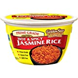 Golden Star Hot & Spicy Jasmine Rice Bowl 180 grams (pack of 6)