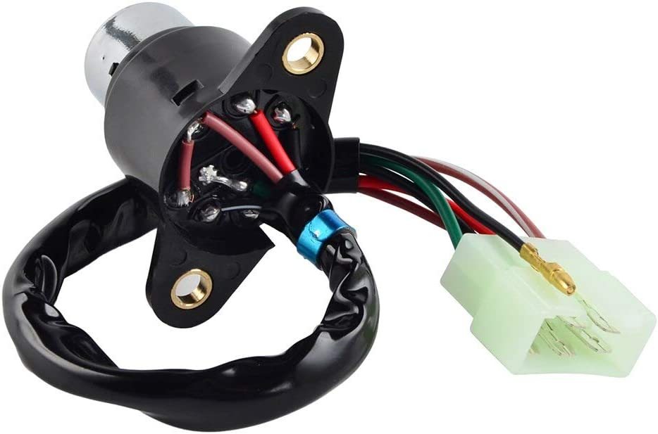 Ignition Switch Assembly with Keys for Honda Cb400 Cm400 A//C//E//T Cm450 Hawk 400 450 Cb400T Cb450T