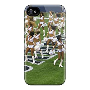 Tpu Fashionable Design Seattle Seahawks Cheerleaders Nfl Rugged Case Cover For Iphone 4/4s New